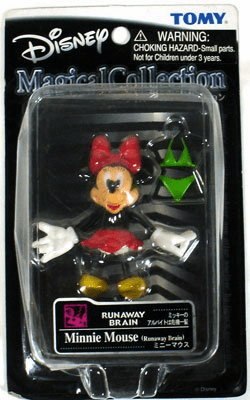 Tomy Disney Magical Collection Runaway Brain Minnie Mouse Figure