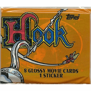 Topps Hook Movie Trading Cards Pack