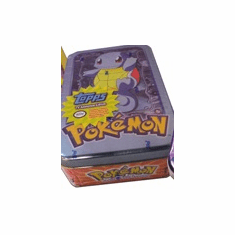Topps Pokemon Cards Squirtle Tin