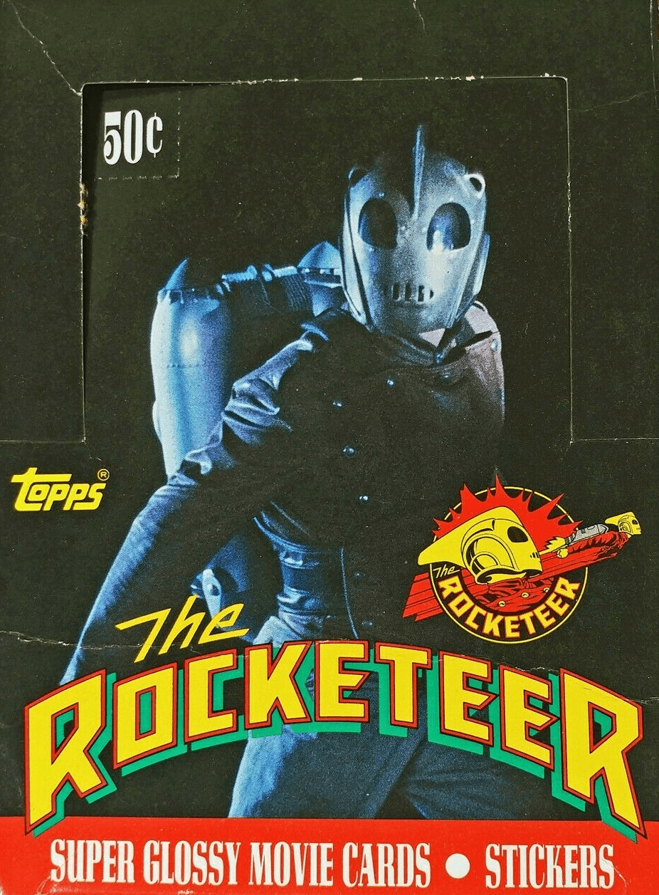 Topps The Rocketeer Super Glossy Movie Cards