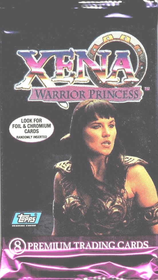 Topps Xena Warrior Princess Premium Trading Card Pack