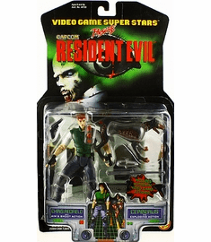 Toy Biz Capcom Resident Chris Redfield and Cerberus Action Figure Set