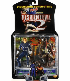 Toy Biz Capcom Resident Evil 2 Leon Kennedy and Licker Action Figures
