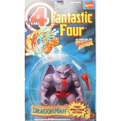 Toy Biz Fantastic Four Dragon Man Figure