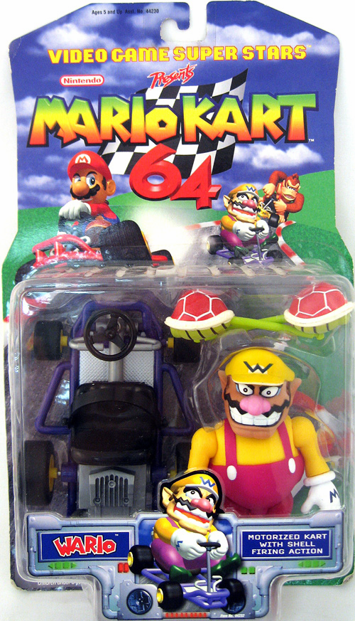 Toy Biz Mario Kart 64 Wario Action Figure