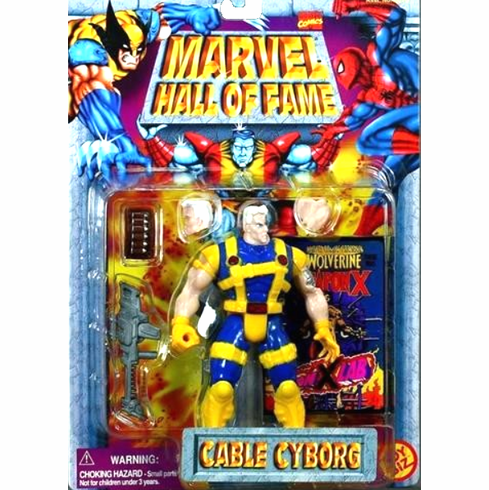 Toy Biz Marvel Hall of Fame Cyborg Cable Figure