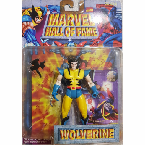 Toy Biz Marvel Hall of Fame Wolverine Figure