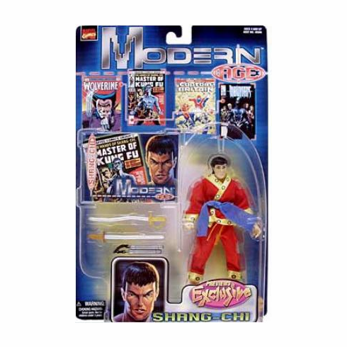 Toy Biz Marvel Modern Age Shang-Chi Action Figure
