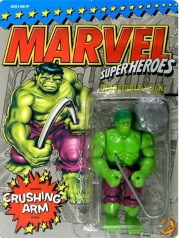 Toy Biz Marvel Super Heroes Incredible Hulk Figure