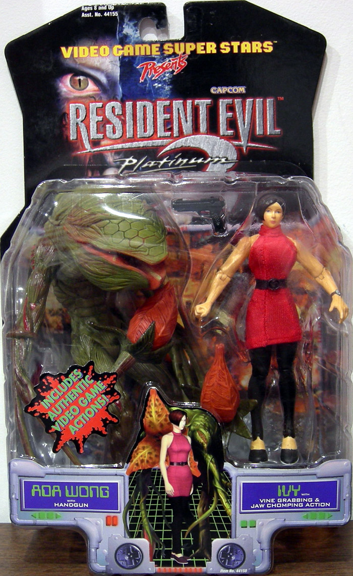 Toy Biz Resident Evil 2 Ada Wong and Ivy Figure Set