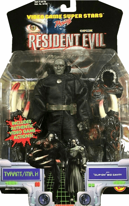 Toy Biz Resident Evil 2 Tyrant/Mr. X Figure