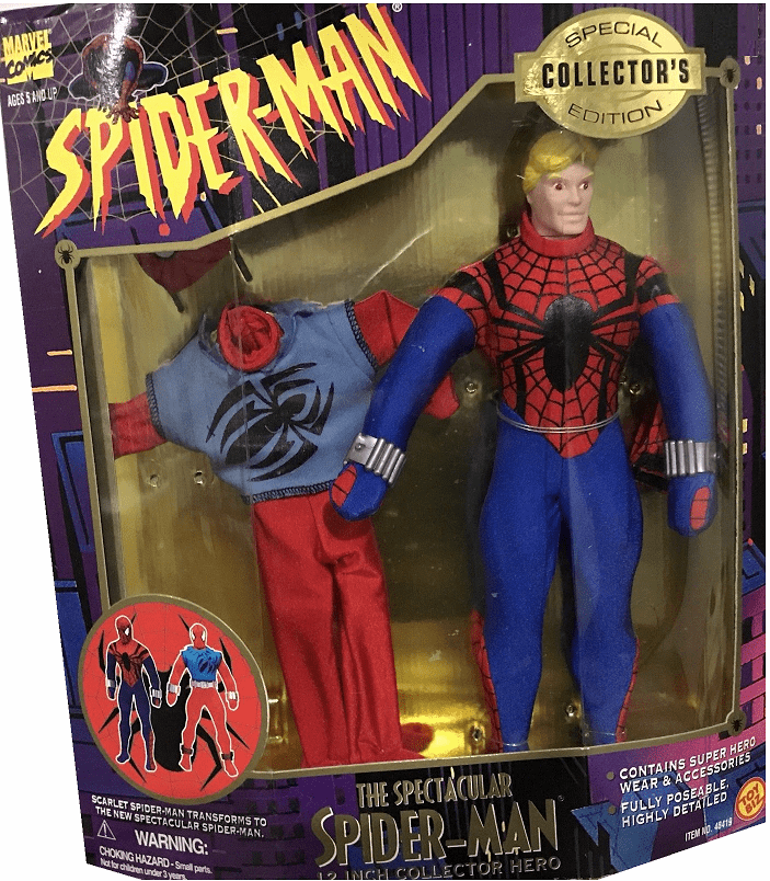 Toy Biz The Spectacular Spider-Man Collector's Edition Doll Set