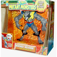 Toy Biz X-Men Mutant Monsters Werewolf Wolverine Figure