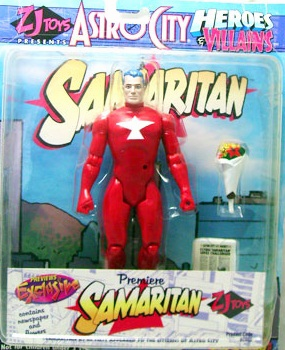 Toy Vault Astro City Premiere Samaritan Action Figure