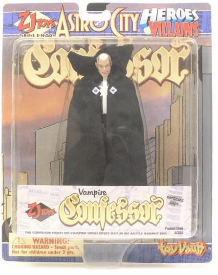 Toy Vault Astro City Vampire Confessor Action Figure