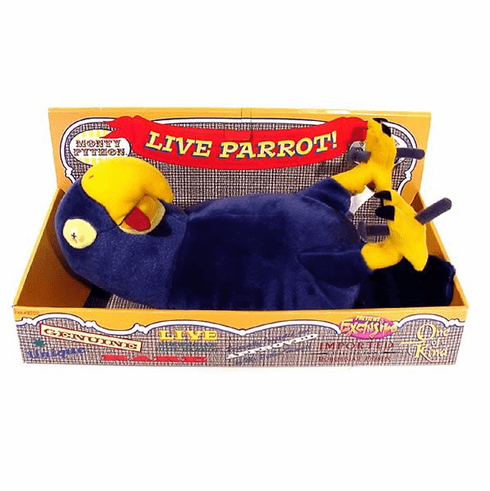 Toy Vault Monty Python's Flying Circus Live Parrot Exclusive Plush