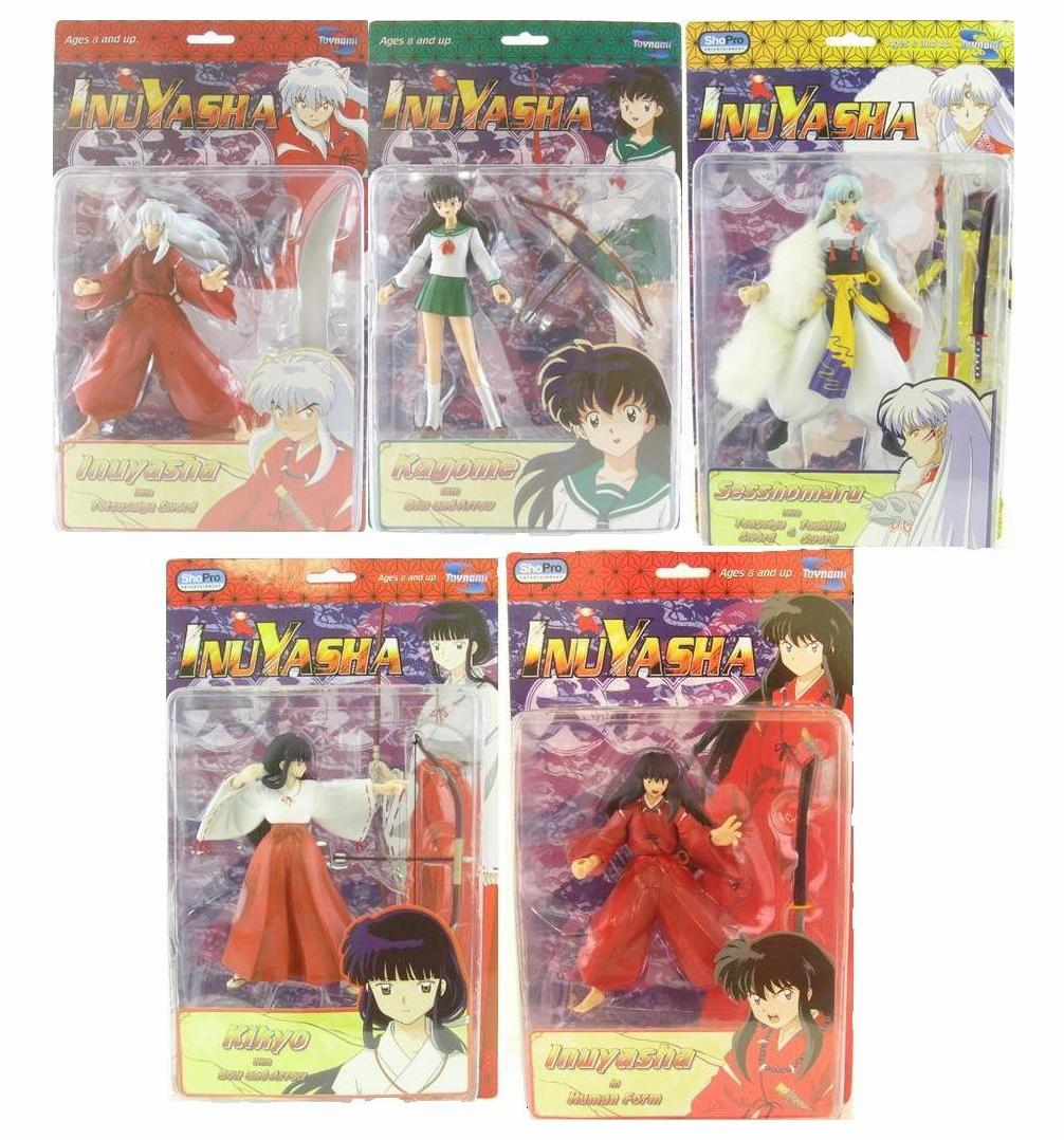Toynami InuYasha Action Figure Set