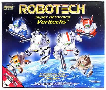 Toynami Robotech Super Deformed Morpher Varitech Set