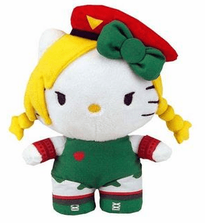 Toynami Sanrio X Street Fighter Cammy Mini Plush