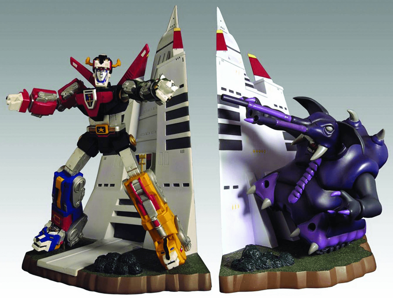 Toynami Voltron Lion Force Bookends