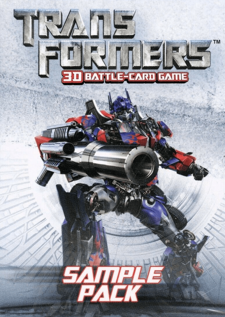 Transformers 3D Battle-Card Game Promo Pack