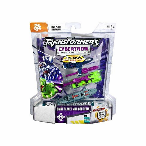 Transformers Cybertron Giant Planet Mini-Con Team Set