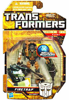 Transformers Hunt for the Decepticons Firetrap Figure