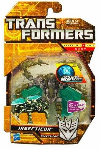 Transformers Hunt for the Decepticons Insecticon Figure