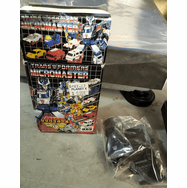 Transformers Micromaster Six Turbo Reissue #1 Road Police Black