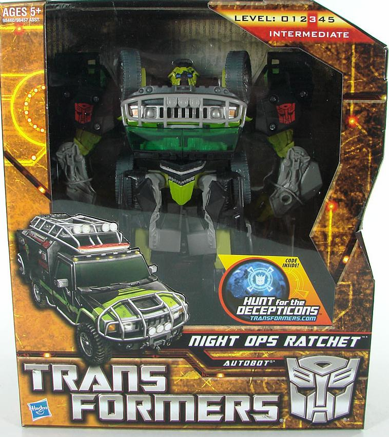Transformers Night Ops Ratchet Figure