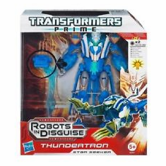 Transformers Prime Robots in Disguise Thundertron Figure