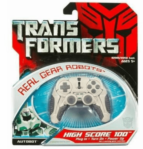 Transformers Real Gear Robots High Score 100 Figure