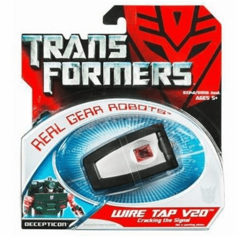 Transformers Real Gear Robots Wire Tap V20 Figure