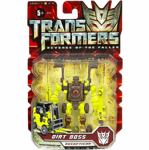 Transformers Revenge of the Fallen Dirt Boss Figure