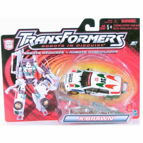 Transformers Robots In Disguise X-Brawn Supermode Figure
