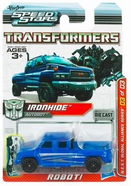 Transformers Speed Stars Ironhide Vehicle