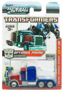Transformers Speed Stars Optimus Prime Vehicle