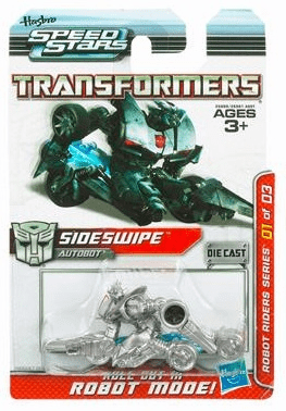 Transformers Speed Stars Sideswipe Vehicle