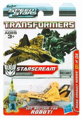 Transformers Speed Stars Starscream Vehicle