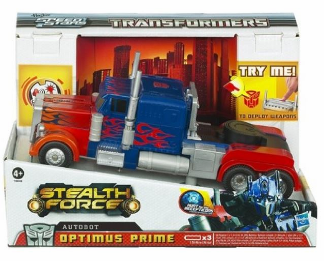 Transformers Speed Stars Stealth Force Optimus Prime