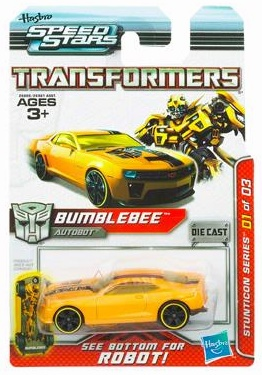 Transformers Speed Stars Stuntcon Bumblebee Vehicle