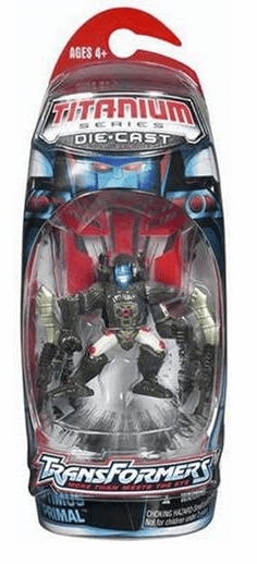 Transformers Titanium Optimus Primal Figure