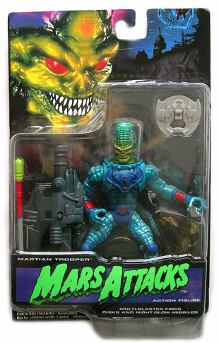 Trendmaster Mars Attacks Martian Trooper Action Figure