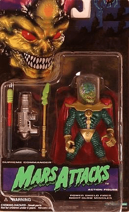 Trendmaster Mars Attacks Supreme Commander Action Figure