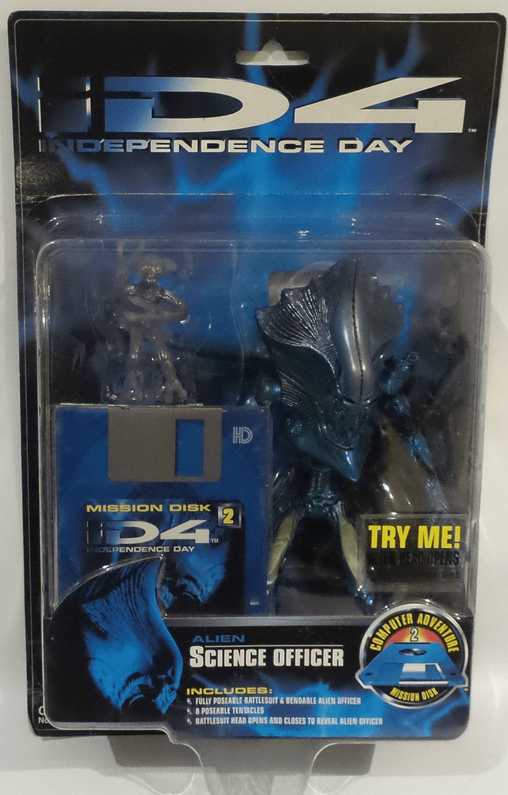 Trendmasters Independence Day Alien Science Officer Figure