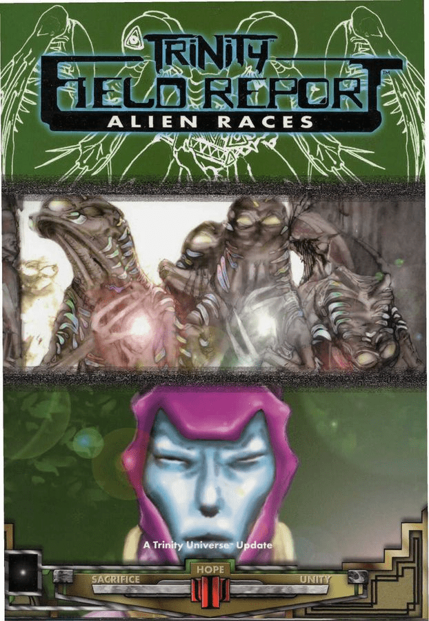 Trinity Field Report Alien Races Sourcebook