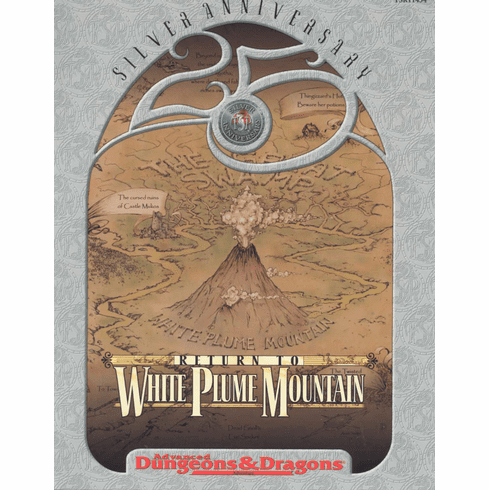 TSR AD&D 25th Anniversary Return to White Plume Mountain