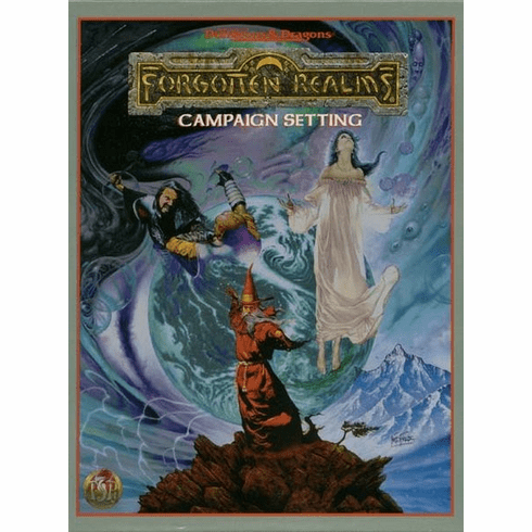 TSR AD&D Forgotten Realms Campaign Setting Box Set 1085 2nd edition