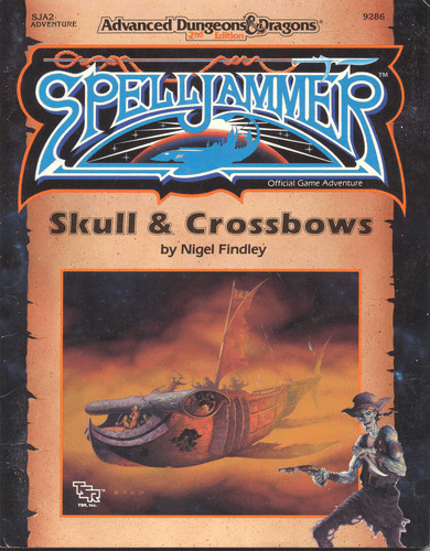 TSR AD&D Spelljammer Skull & Crossbows Role Playing Game Module