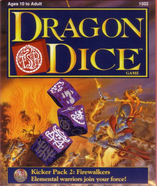 TSR Dragon Dice Kicker Pack 2 Firewalkers